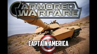 Armored Warfare - Captain America