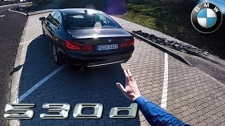 bmw 5 series review 2017 g30 530d pov test drive