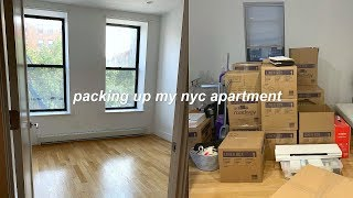 MOVING VLOG: packing up my old NYC apartment!