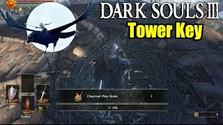 Dark Souls 3: Tower Key - How to find Snuggly The Crow & A Fire Keeper Soul!