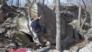 Niagara Glen Bouldering Moderates