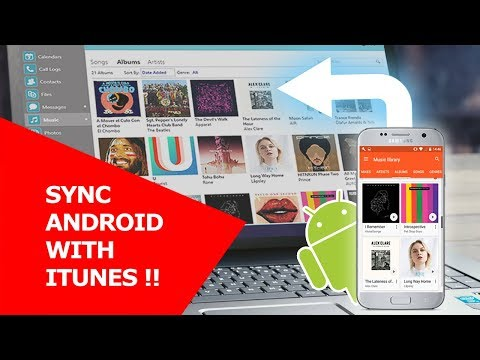 Sync Android with iTunes