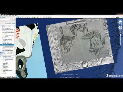 Michelle Obama New  Portrait shows Area 51 Alien Rev 911 Beast Illuminati Freemason Symbolism