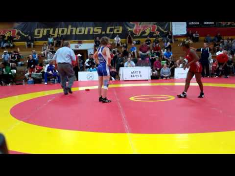 2015 Canada Cup: 53 kg Yamilka Alvarez del Valle (CUB) vs. Jillian Gallays (CAN)