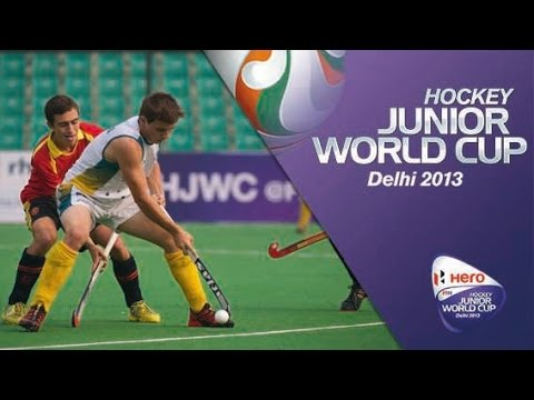 Australia vs Spain - Men's Hero Hockey Junior World Cup India [08/12/2013]