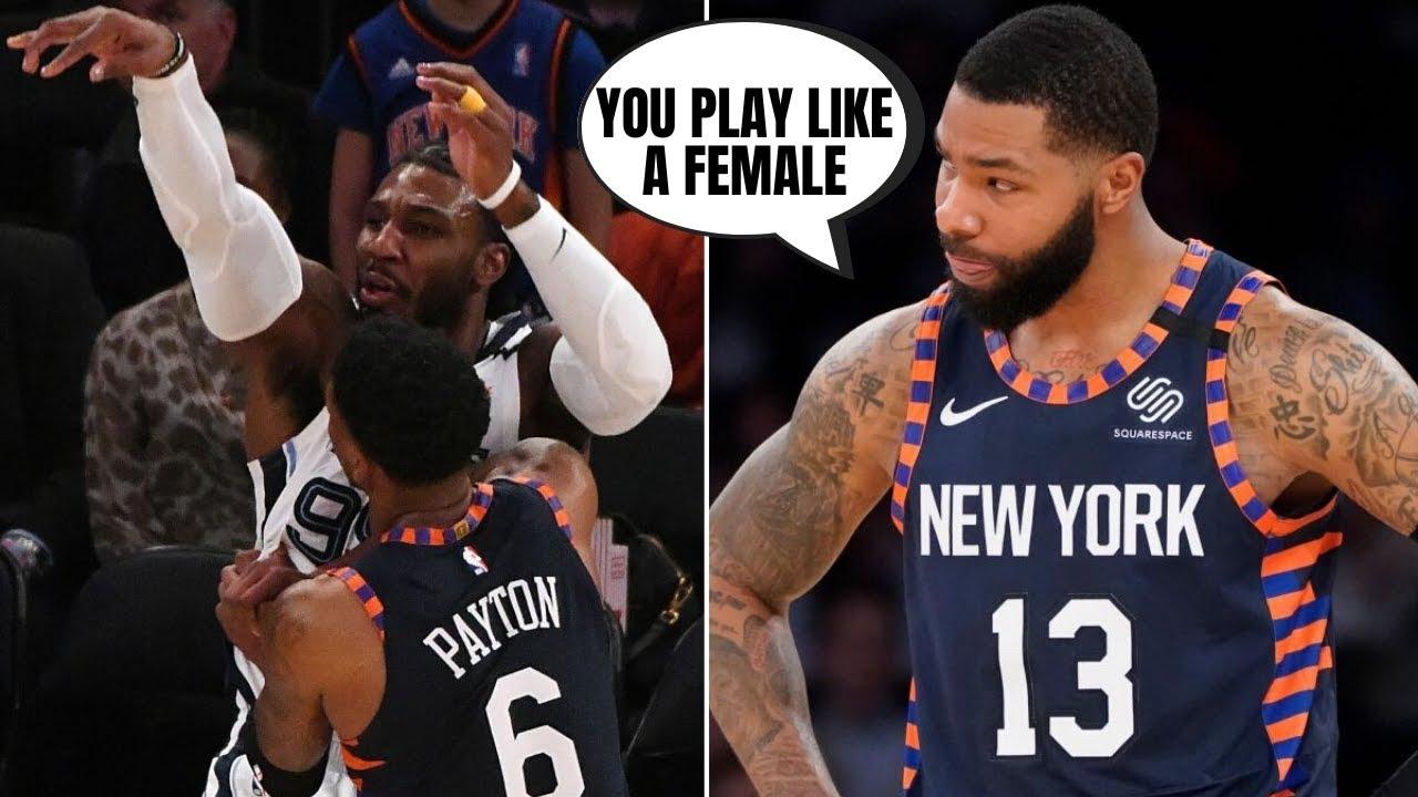 Knicks' Marcus Morris says Grizzlies' Jae Crowder has 'female ...