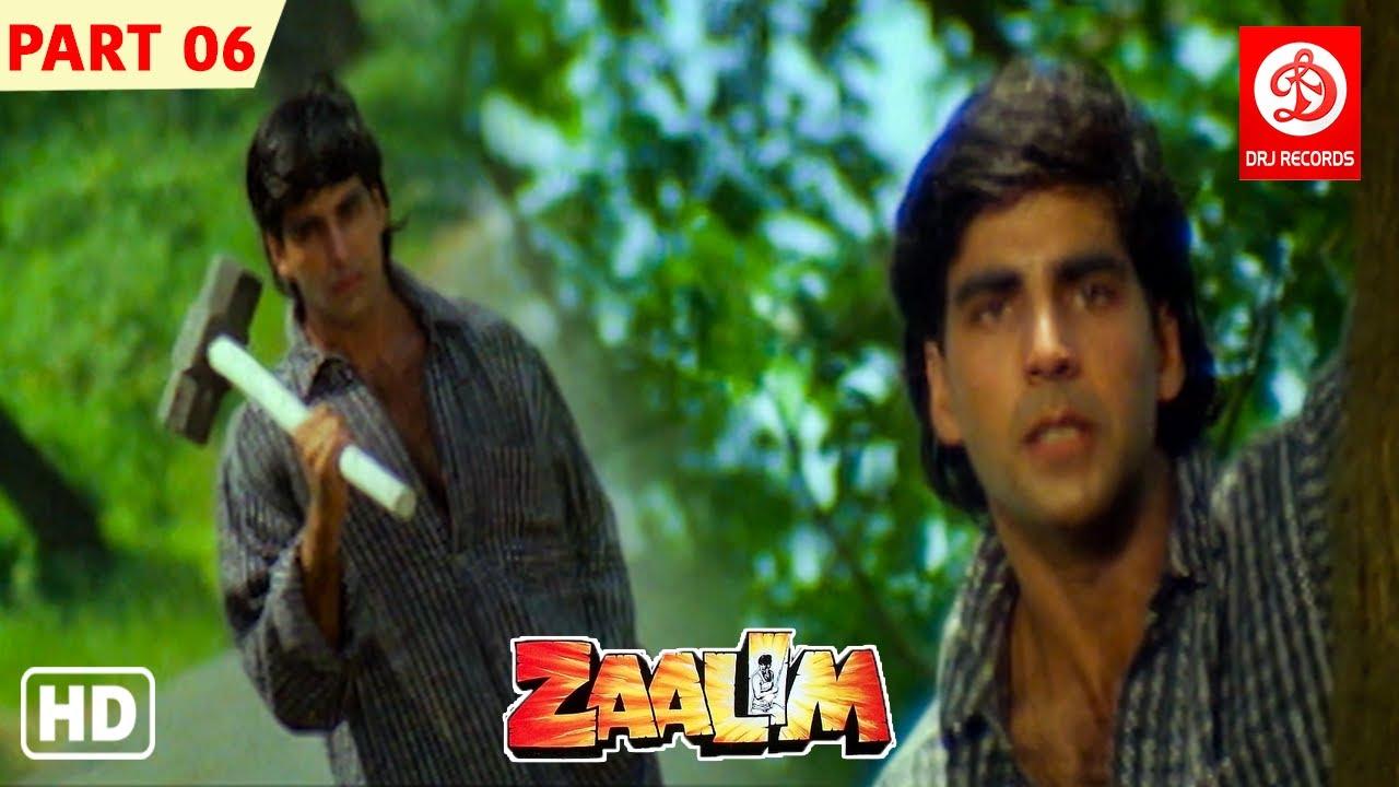 Download Zaalim- Hindi Full Movie   Part -6   Akshay Kumar   Madhoo   Mohan Joshi   Bollywood Action Film