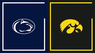 First Half Highlights: Iowa at Penn State | Big Ten Basketball