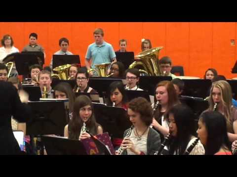 Sandwich Middle School 8th Grade Spring 2015 Concert Batman