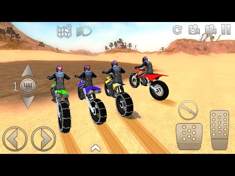 Motocross Dirt Bikes Extreme Off-Road #1 - Offroad Outlaws Motor Bike Game Gameplay |