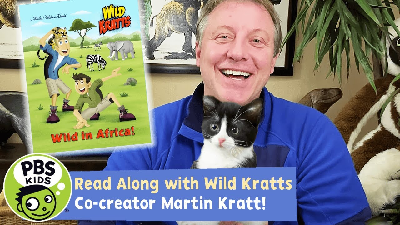 Wild In Africa! | Wild Kratts Read Along!