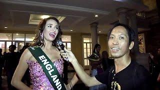 Luissa Burton, Miss Earth - England: Exclusive Interview