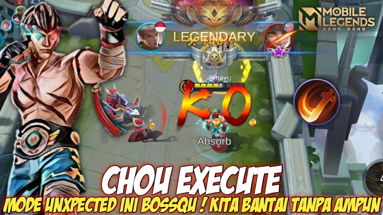 Mode unXpected Ini Boss ! Chou Execute Is Real - Mobile Legends