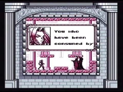 Castlevania Legends - Story Scenes