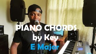 Chords by Key - Piano Chords in the Key of E Major