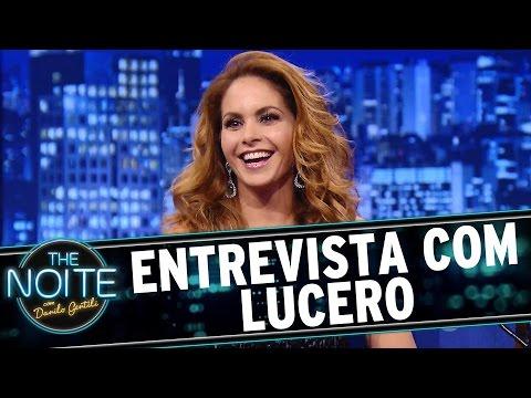The Noite (04/02/16) - Entrevista Com Lucero