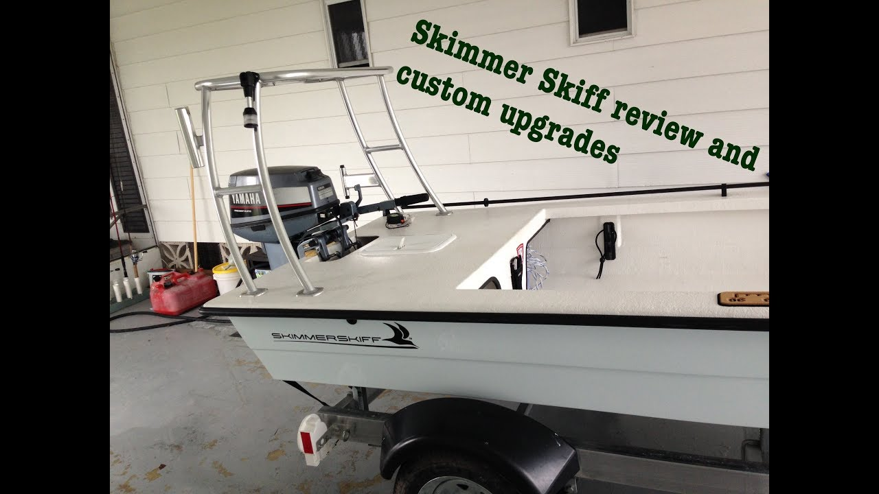 2015 Skimmer Skiff Review And custom Upgrades