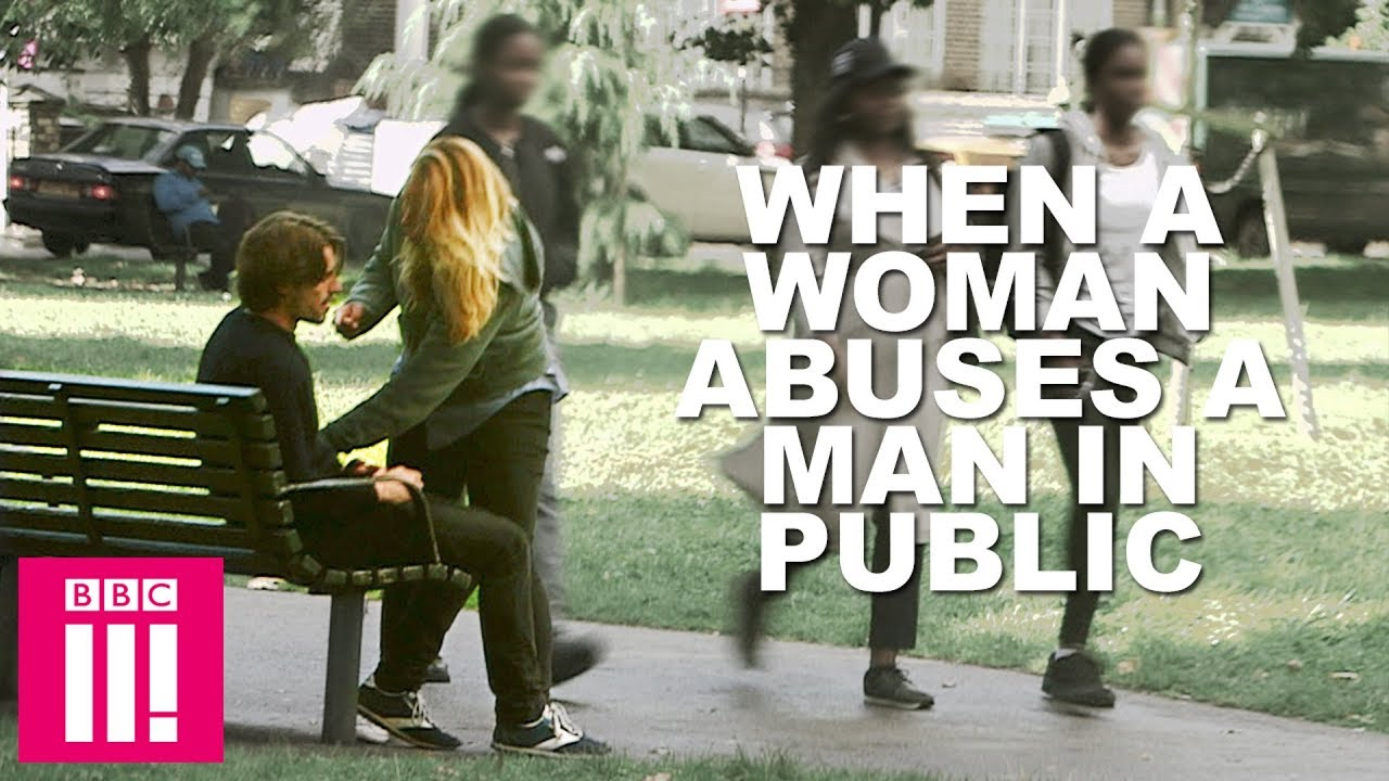 What Happens When A Woman Abuses A Man In Public - Clipfail-4841