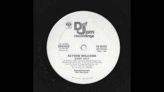 Alyson Williams - Sleep Talk (Long Version)