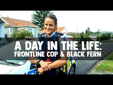 A Day in the Life: Frontline Cop & NZ Rugby Player
