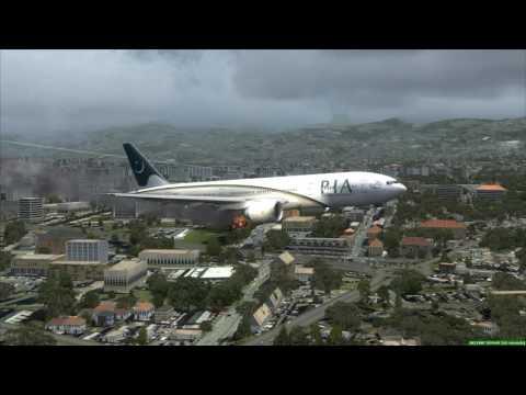 PIA 777-300ER Emergency Landing Beirut