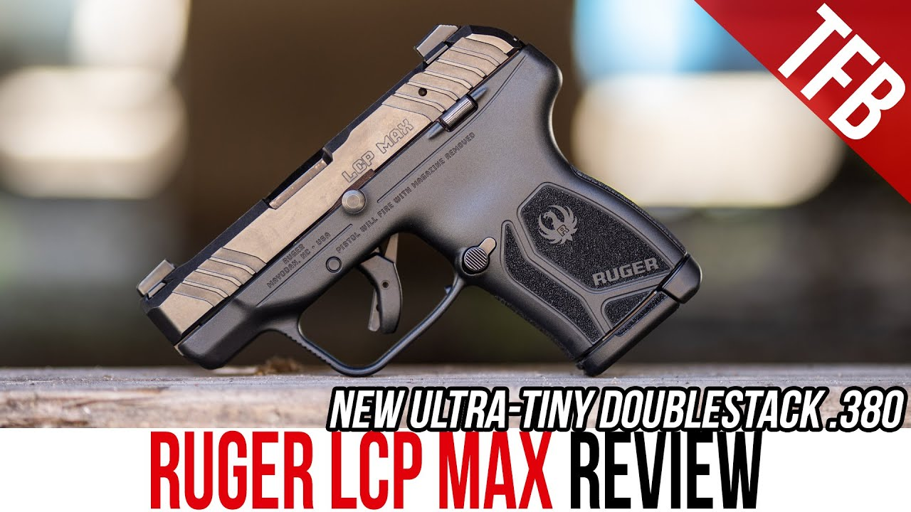 NEW Ruger LCP MAX: A Doublestack .380 Micro Compact