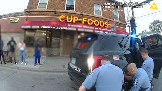 Graphic content: Body camera footage shows bystander reaction to police killing of George Floyd
