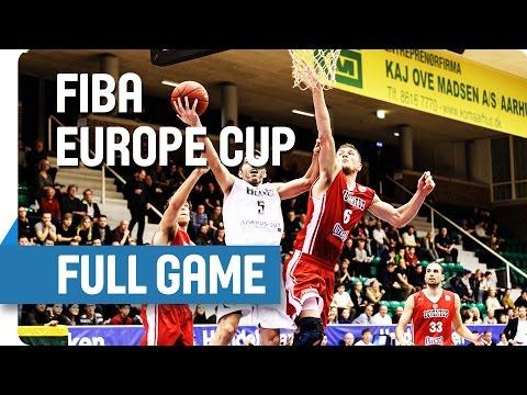 Bakken Bears (DEN) v Juventus Utena (LTU) - Full Game - Group T - FIBA Europe Cup