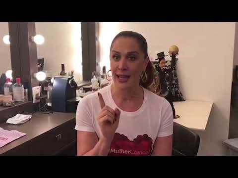Cláudia Raia protagoniza vídeo de apoio à campanha Mulher Coração