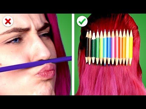 Repurpose! 11 DIY School Supplies Ideas and Back to School Crafts