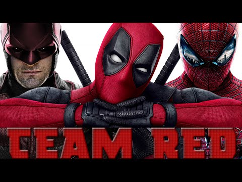 Uptown Funk | Marvel's Team Red
