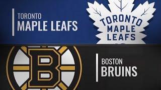 Бостон vs Торонто | Toronto Maple Leafs at Boston Bruins | NHL HIGHLIGHTS | НХЛ ОБЗОР МАТЧА