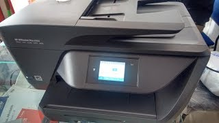 Unboxing HP 6960 Inkjet All in One Color Printer with Wi Fi