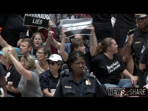 Kavanaugh Protest: 300 Activists Arrested Including Amy Schumer