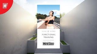 FT с Екатериной Ковпак 3 мая 2021 Онлайн тренировки World Class