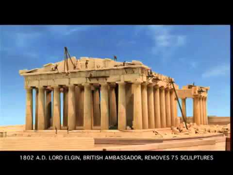 The Parthenon of the Acropolis of Athens by Costa Gavras
