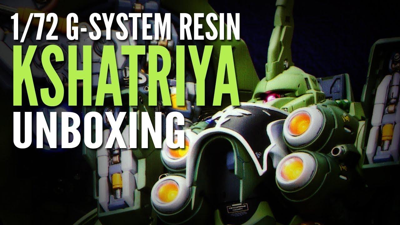 1/72 G-System NZ-666 Kshatriya Unboxing