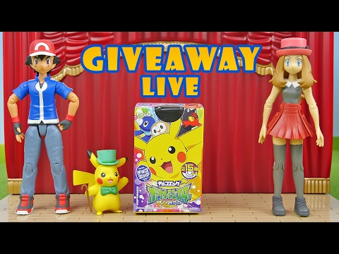 GIVEAWAY! Pokemon Surprise Egg Challenge - 50 Eggs Opening Live Stream