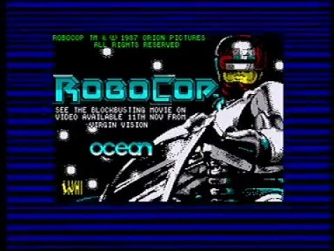 Robocop - Full Experience (ZX Spectrum - Real Hardware) Longplay