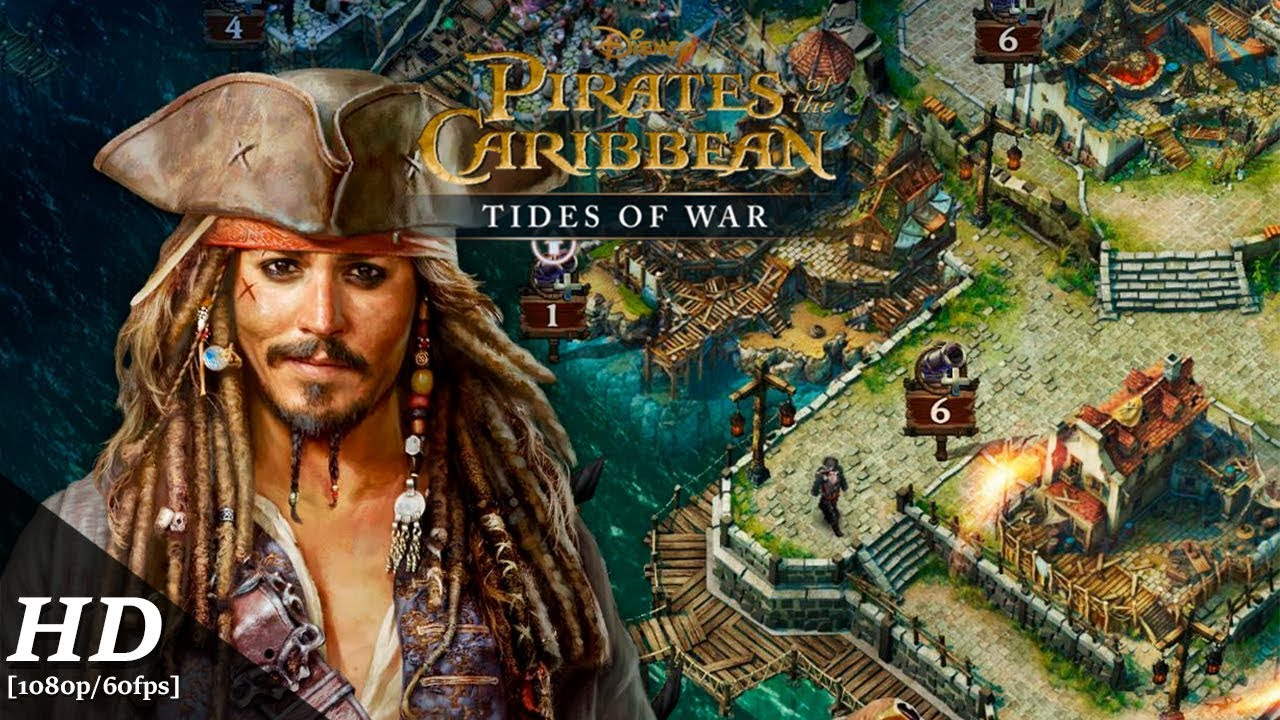 Pirates Of The Caribbean Tides Of War Android Gameplay 60fps Youtube