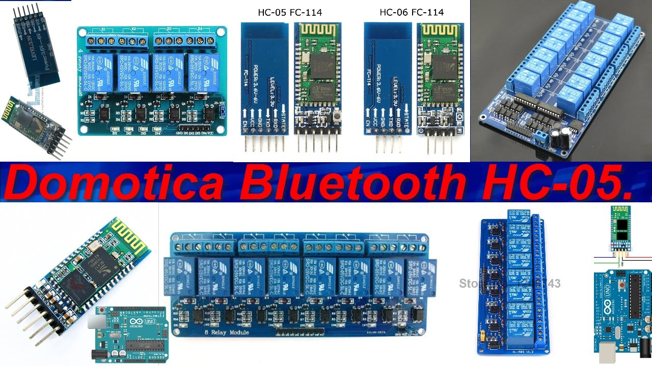 Lavori per tutti domotica bluetooth arduino hc
