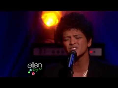 Bruno Mars sings Count On Me on The Ellen DeGeneres Show