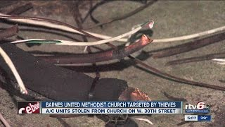 Barnes United Methodist Church targeted by thieves
