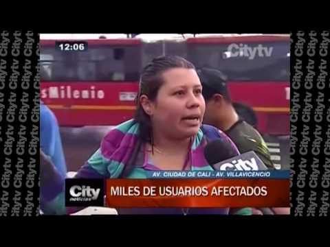 Bloqueos en el Portal Las Américas afectaron a 30.000 usuarios | City Tv