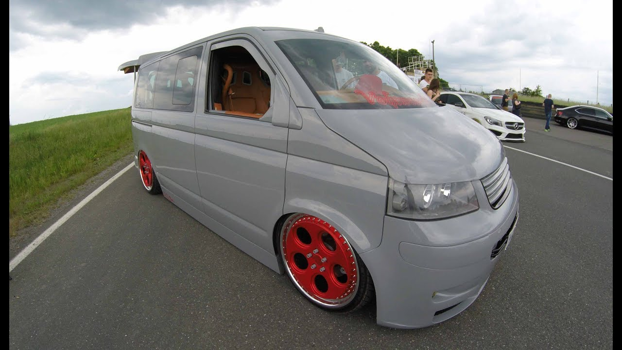 vw t5 multivan mega tuning show car rotiform wheels. Black Bedroom Furniture Sets. Home Design Ideas