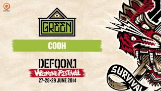 The colors of Defqon.1 mixes | Green by Cooh