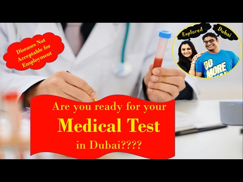Medical Test  in Dubai