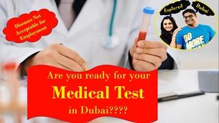 Medical Test in Dubai