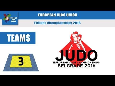 EUROPEAN CLUB CHAMPIONSHIPS - Tatami 3
