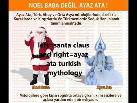 wer ist nikolaus | who is santa claus | noel baba kim | Turkish Mythology | culture thief west
